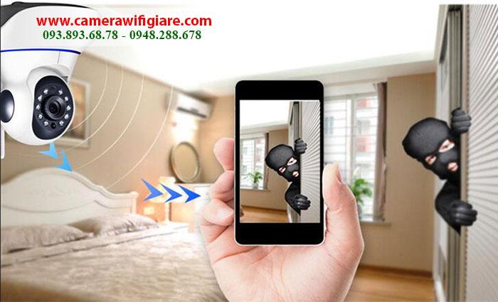 Camera IP Wifi là gì? Camera wifi không dây cho gia đình chất lượng vượt trội, giá tốt