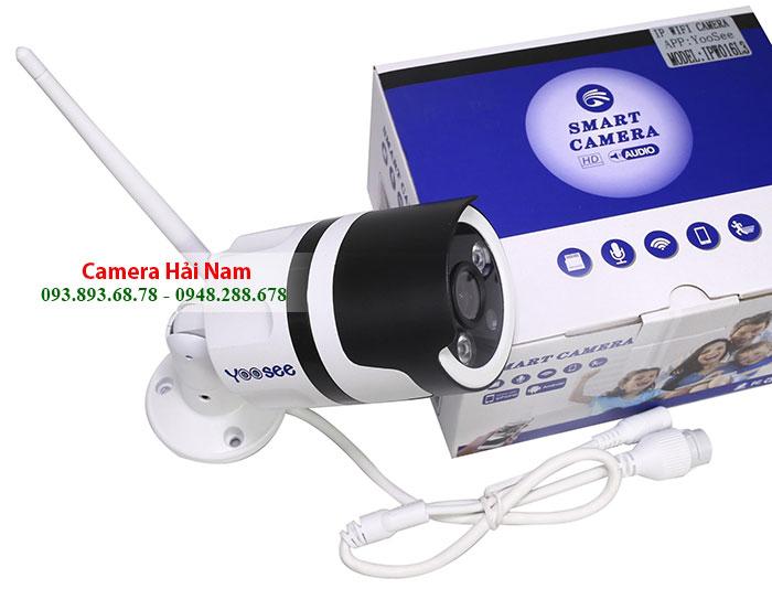 Camera Yoosee ngoài trời 1.3 có Đàm thoại, Hình màu ban đêm
