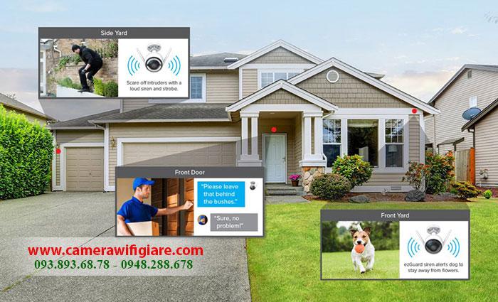 Camera an ninh trong nhà & ngoài trời giá bao nhiêu?