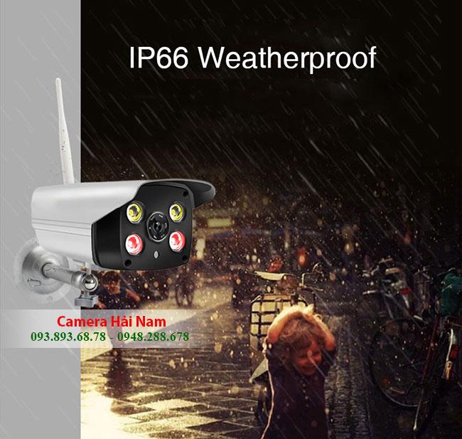 Camera an ninh wifi ngoài trời & trong nhà