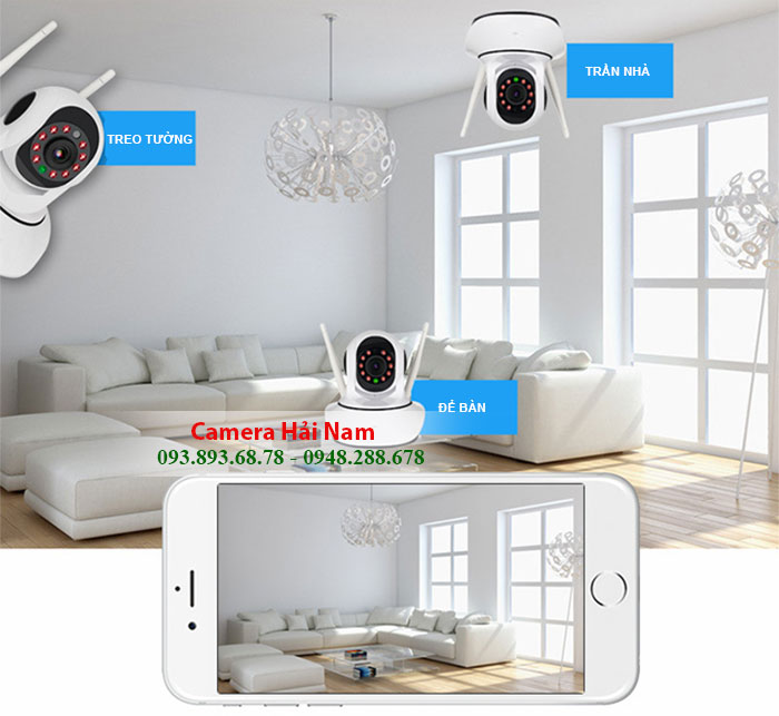 camera an ninh trong nhà và ngoài trời
