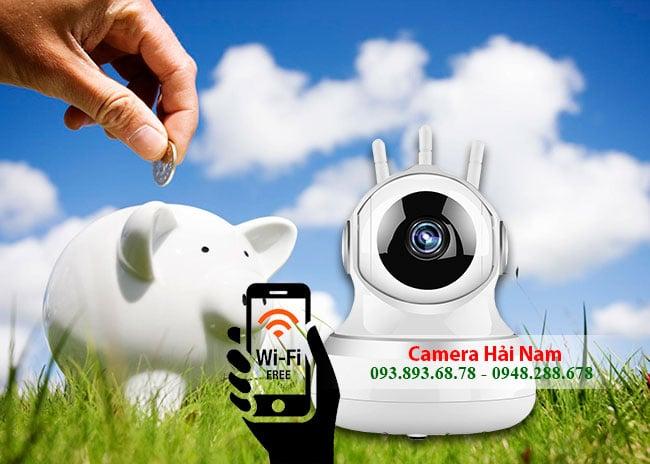 Camera quan sát không dây wifi giá bao nhiêu?