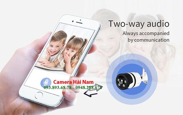 Camera wifi không dây sở hữu hàng loạt tính năng thông minh