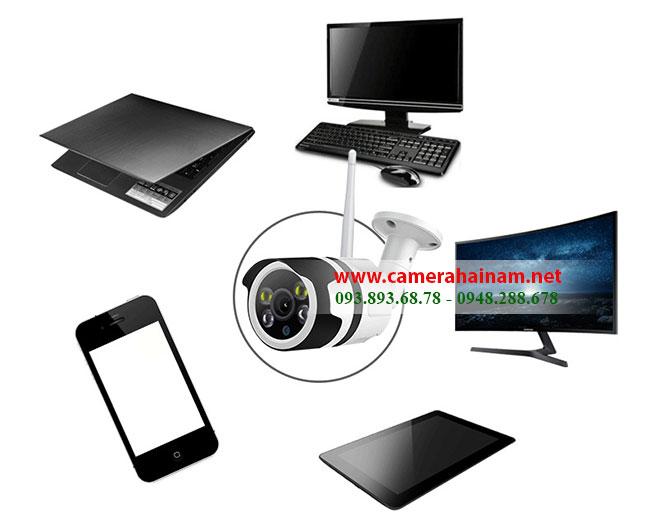 Camera quan sát không dây là gì? Camera quan sát không dây là thiết bị ghi hình và truyền tải hình ảnh trực tiếp cho người dùng với lối kết nối không dây siêu tiện lợi bằng mạng INTERNET (WIFI). Sử dụng thiết bị, người dùng sẽ LOẠI BỎ được khá nhiều thủ tục rườm ra và tiết kiệm được đến 90% chi phí so với dòng camera quan sát có dây truyền thống. => BỞI VÌ:Camera quan sát không cần đầu ghi hình, đầu thu KHÔNG CẦN Ổ CỨNG, DÂY CÁP, MÀN HÌNH XEM, TÊN MIỀN, HOSTING… KHÔNG CẦN thuê thợ chuyên nghiệp lắp đặt, KHÔNG SỢ gây mất thẩm mĩ cho không gian.