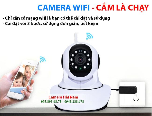 Camera wifi không dây
