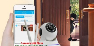 Lắp đặt camera chống trộm giá rẻ báo qua điện thoại, Internet