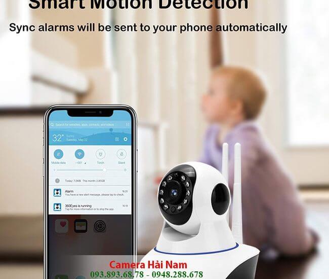 Lắp đặt camera giám sát không dây wifi gia đình giá rẻ nhất
