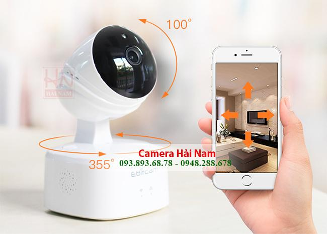 Lắp đặt camera giám sát 360 độ giá rẻ nhất, bao công lắp, free ship