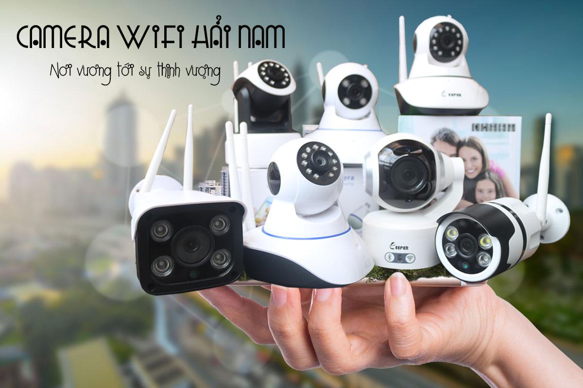 Camera IP không dây công nghệ cao tiện ích, thông minh, tiết kiệm chi phí 90%