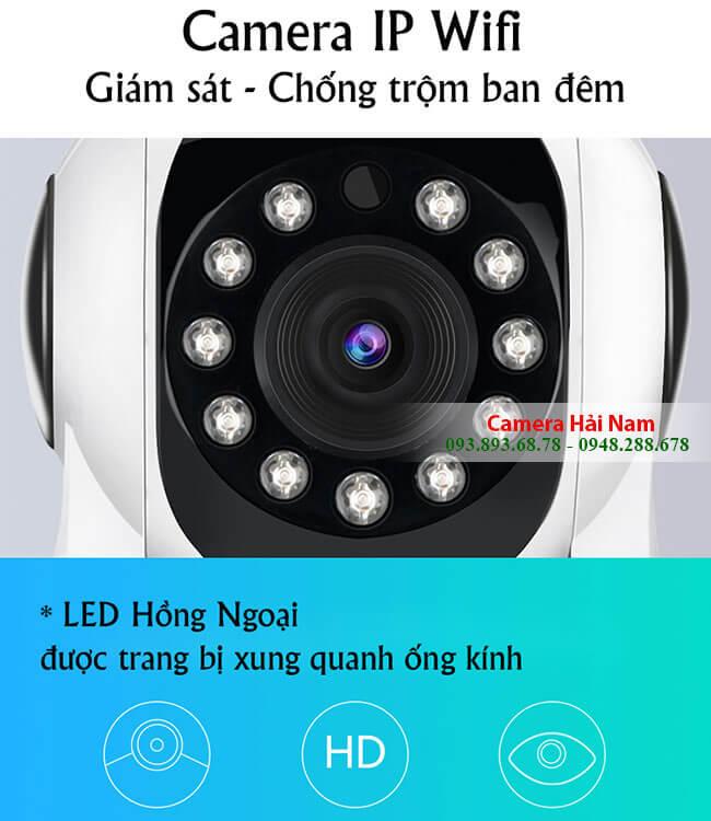 TOP 8 Camera chống trộm hồng ngoại xem ban đêm siêu nét - Hải Nam bán & lắp đặt camera chống trộm wifi không dây giá rẻ nhất TP. HCM