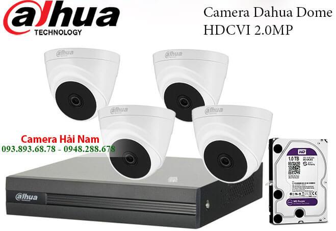 Camera an ninh có dây trọn bộ Dahua 2.0M Full HD 1080P
