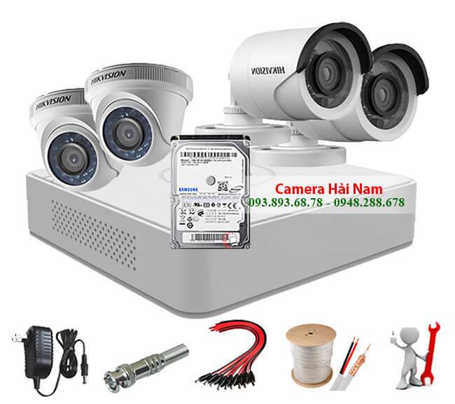Camera an ninh có dây trọn bộ Hikvision 2.0MP Full HD 1080P