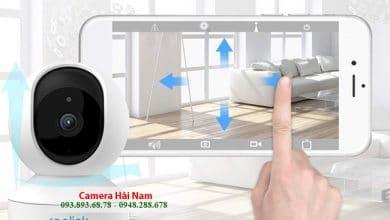Lắp đặt camera an ninh 360 độ có ghi âm, đàm thoại, báo trộm từ 495K
