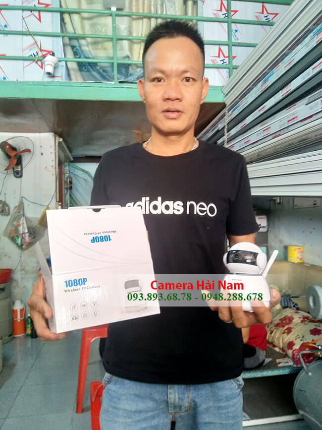 Camera IP Wifi Hải Nam 2.0M Full HD 1080P HN-ID-68-FHD [CAO CẤP] - Hải Nam Bán & Lắp đặt Camera Wifi IP chất lượng, giá rẻ, uy tín nhất