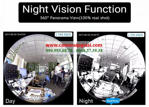 Camera IP Wifi Ngụy trang Bóng đèn điện Yoosee