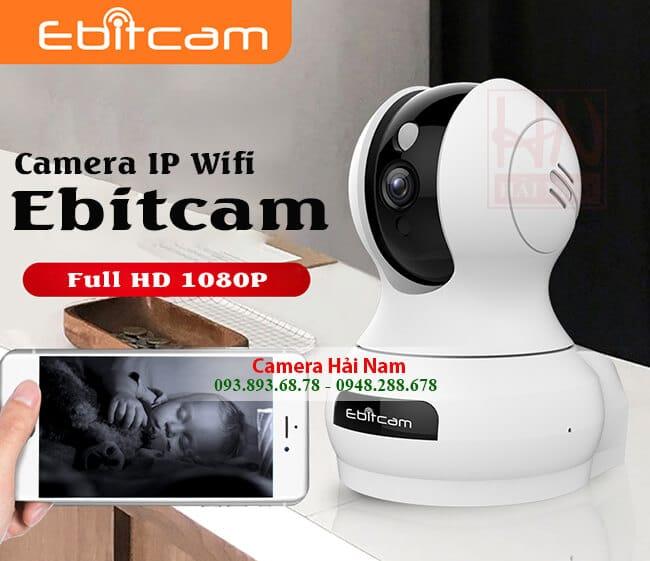 camera ip wifi 360 độ cao cấp chính hãng