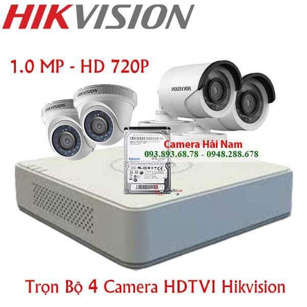 Camera Hikvision Trọn bộ Full HD