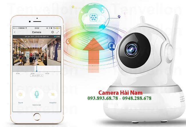Hải Nam Phân phối Camera Wifi chất lượng, giá tốt
