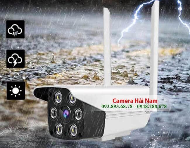 Camera IP Yoosee ngoài trời 2.0MP có Đàm thoại, Hình màu ban đêm