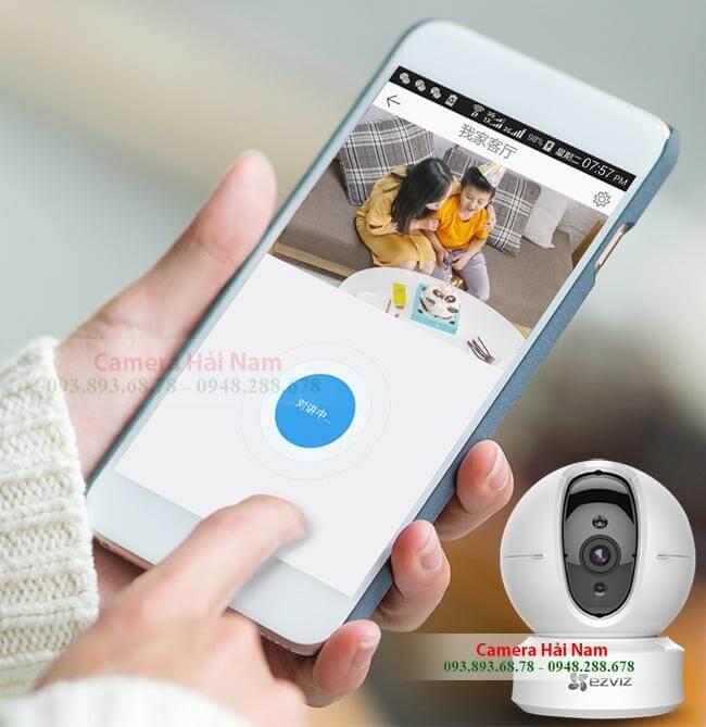 Camera IP Không dây EZViz 1.0M HD 720P Chính hãng, Xoay 360, Báo trộm thông minh