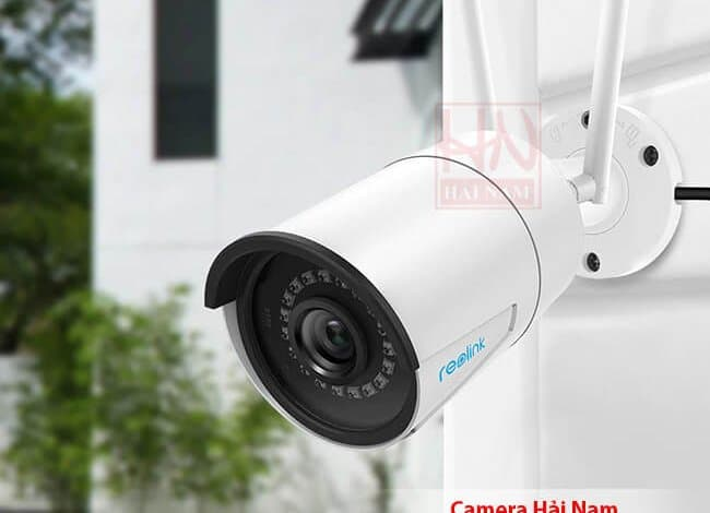 Camera IP Wifi Ngoài trời Reolink RLC-410W 4.0MP Siêu nét 2K, IR 30m