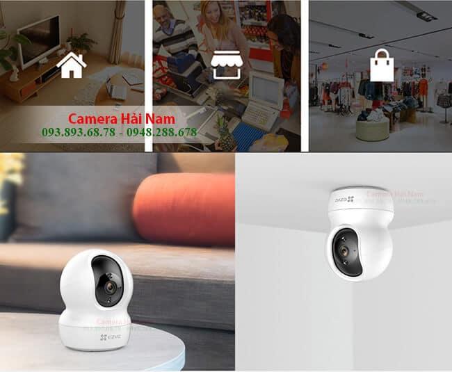 Camera ip không dây EZViz 2.0 thông minh, xoay 360 độ, giá rẻ