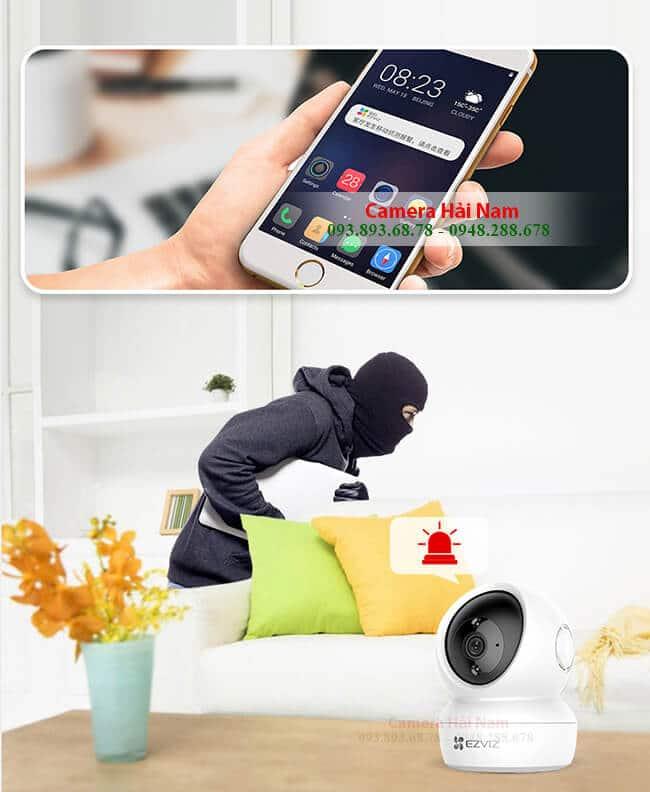 Camera ip không dây EZViz 2.0 sắc nét, xoay 360 độ, giá rẻ