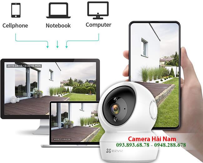 Camera ip EZViz 2.0 sắc nét, thông minh, xoay 360 độ, giá rẻ