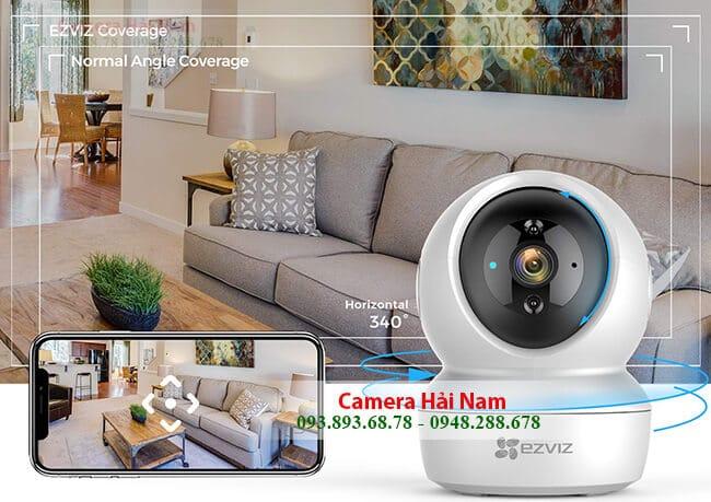 Camera ip không dây EZViz 2.0 sắc nét, thông minh, xoay 360 độ, giá rẻ