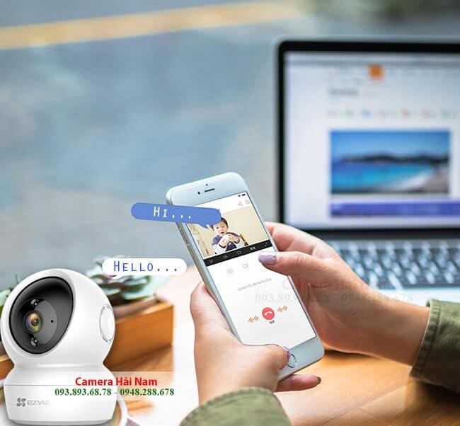Camera không dây EZViz 2.0 sắc nét, thông minh, giá rẻ