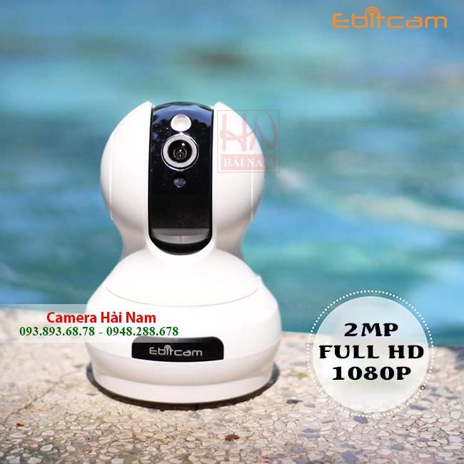 Camera wifi Ebitcam 2MP FULL HD 1080P Sắc Nét, Siêu Tiện Ích, Giá Siêu Rẻ Tại Hải Nam Chỉ 795K