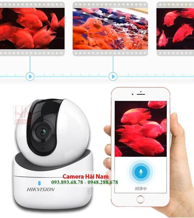 Camera wifi Hikvision 2.0MP Full HD 1080P sắc nét, xoay đa chiều, báo trộm siêu nhạy