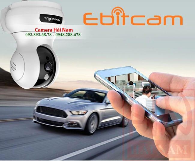 Camera wifi Ebitcam giá rẻ 2MP Full HD 1080P Chính hãng - GIẢM NGAY 50% BÂY GIỜ!
