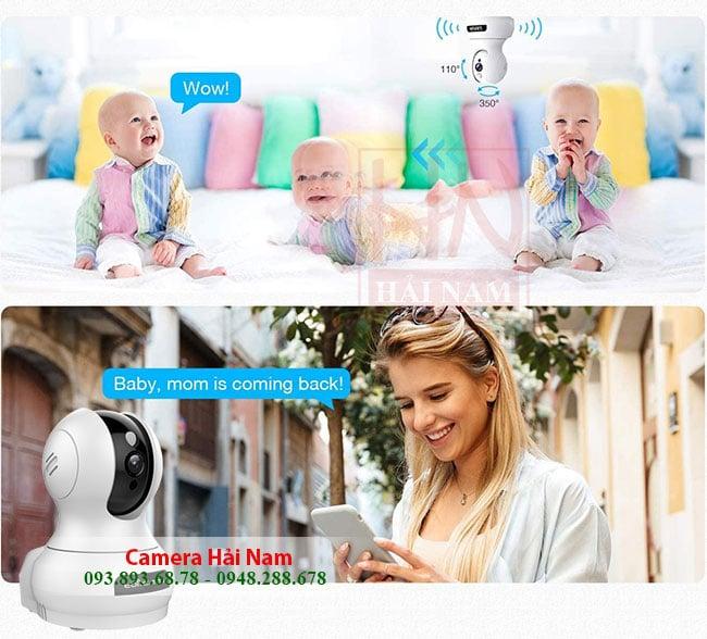 Camera wifi giá rẻ, Camera wifi không dây cho gia đình chất lượng vượt trội